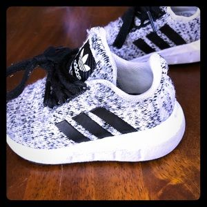 Toddler adidas ultraboost shoes.